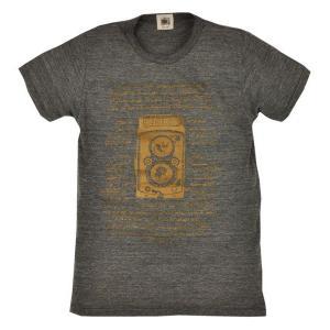 メンズ Tシャツ 半袖 二眼レフカメラ ZIOZIO 敬老の日|studio-ichi