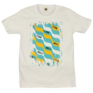 メンズ Tシャツ 半袖 月波模様 ZIOZIO|studio-ichi
