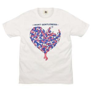 SALE メンズ Tシャツ 半袖 ハンドハート ZIOZIO 敬老の日|studio-ichi