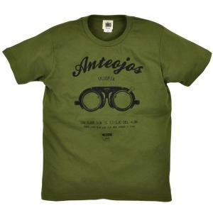 Tシャツ 半袖 検眼メガネ 眼鏡 ZIOZIO メンズ|studio-ichi