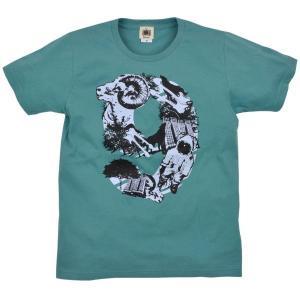 メンズ Tシャツ 半袖 NINE 9 山羊 ZIOZIO|studio-ichi
