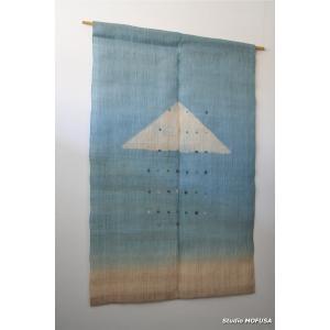 暖簾 のれん N-4701 本麻 半間 90cmx130cm|studio-mofusa