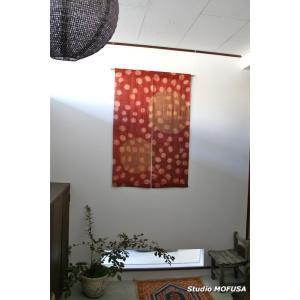 暖簾 のれん N-3202 本麻 半間 90cmx130cm|studio-mofusa