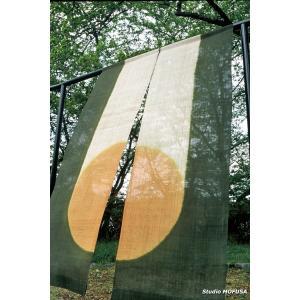 暖簾 のれん N-0302 本麻 半間 90cmx140cm|studio-mofusa