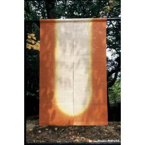 暖簾 のれん N-0303 本麻 半間 90cmx140cm|studio-mofusa