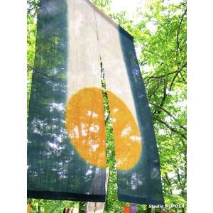 暖簾 のれん N-0304 本麻 半間 90cmx140cm|studio-mofusa