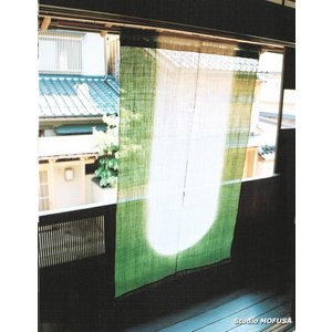 暖簾 のれん N-0306 本麻 半間 90cmx140cm|studio-mofusa