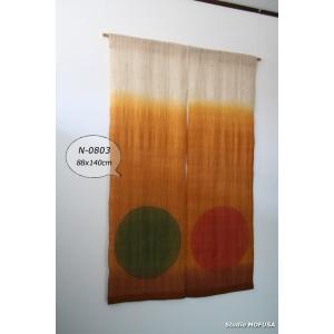 暖簾 のれん N-0803 本麻 半間 90cmx140cm|studio-mofusa