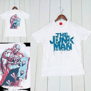 デザイナーにMOUNTAIN GRAPHICSを迎えたジャンクマンTシャツ。   【カラー】 ホワイ...