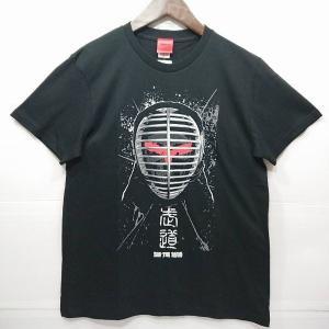 デザイナーにSYURIKENを迎えたビッグ・ザ・武道Tシャツ   【カラー】 ブラック 05(Bla...