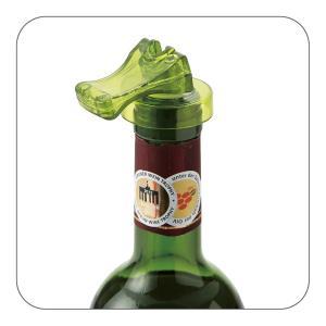 Flow ボトルストッパー グリーン ワインキーパー|studiolo