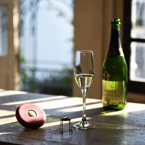 ドイツ製 シャンパンオープナー HOOPLA レッド|studiolo