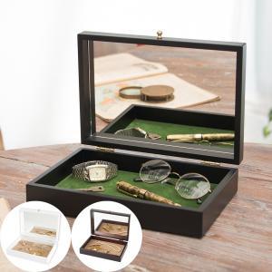 20%OFF!8/21 9:59まで 【セール】在庫限り コレクションケース 木製 アクセサリーケース 日本製 木製コレクションケース おしゃれ|studiolo