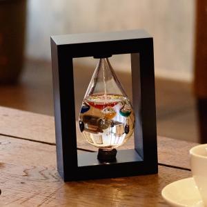ガリレオ温度計 ガラスフロート温度計 しずく(フレーム付) 映画 「 ラプラスの魔女 」 小道具協力...