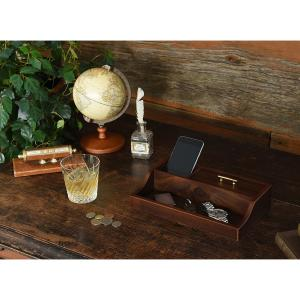 木製トレー 木製オーバーナイター 小物入れ 小物トレイ 父の日 メンズ 男性用|studiolo