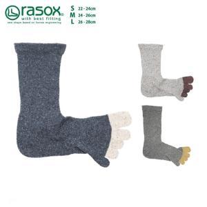 ラソックス FFシルク・クルー CA160CR02 rasox 靴下 ソックス レディース メンズ 保湿 メール便送料無料|style-depot