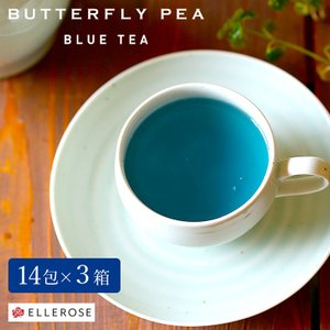 まるで澄み渡るエーゲ海のように美しいブルー色のバタフライピー。 花びらが蝶々のように見えるために、バ...