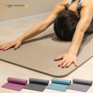 ヨガワークス ヨガマット ピラティスマット 12mm yogaworks ヨガ ピラティス ストレッチ ダイエット 健康 器具 エクササイズ トレーニング 送料無料|style-depot