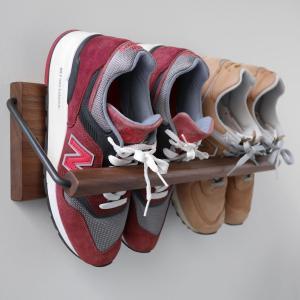 [Sneaker wall]スニーカーウォールは壁に取付けるシューズラックです。  省スペースでスニ...