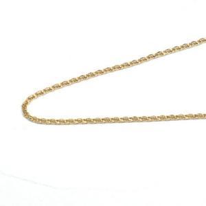 K18 アクセサリー エスカルゴチェーン 18金 ゴールド 長さ50cm 線幅1.7mm|style-on-stage