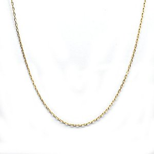 K18 アクセサリー アズキチェーン 18金 ゴールド 長さ40cm 線幅0.6mm|style-on-stage