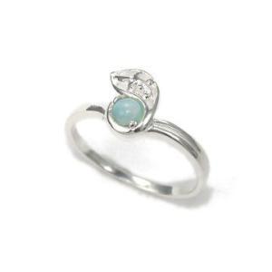 送料無料 シルバーアクセサリー 純銀 シルバー925 ラリマー リング 指輪 誕生日 プレゼント ギフト 贈り物 ギフトBOX付|style-on-stage