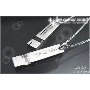 送料無料 LARA Christie ララクリスティー サイドウェイ ペアネックレス PAIR Label 誕生日 記念日 プレゼント ギフト 贈り物|style-on-stage