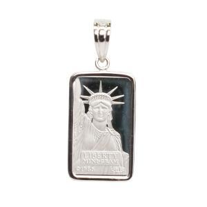 プラチナ 自由の女神 リバティー コインペンダント 誕生日プレゼント 贈り物 ギフト BOX付|style-on-stage