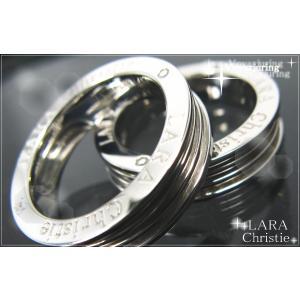 送料無料 LARA Christie ララクリスティー ヴォヤージュ ペアリング 指輪 PAIR Label 誕生日 記念日 プレゼント ギフト 贈り物|style-on-stage