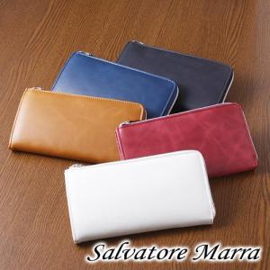 サルバトーレマーラのL型ラウンド長財布♪あなたは何色!?  ■素材:牛革 ■サイズ:W19×H10....