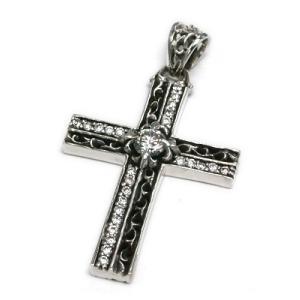 送料無料 シルバーアクセサリー 純銀 シルバー925 クロス 十字架 ペンダント ネックレス シルバー925チェーン付 誕生日 プレゼント ギフト 贈り物 ギフトBOX付|style-on-stage