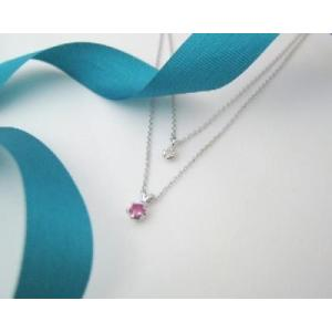 7月の誕生石 ルビー シルバーアクセサリー 純銀 シルバー925 ダイヤモンド ネックレス 誕生日プレゼント クリスマスプレゼント クリスマス ギフト 贈り物|style-on-stage