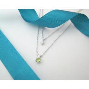 8月の誕生石 ペリドット シルバーアクセサリー 純銀 シルバー925 ダイヤモンド ネックレス 誕生日プレゼント クリスマスプレゼント クリスマス ギフト 贈り物|style-on-stage
