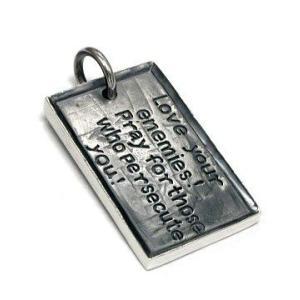送料無料 シルバーアクセサリー 純銀 シルバー925 聖書 ペンダント ネックレス シルバー925チェーン付 誕生日 プレゼント ギフト 贈り物 ギフトBOX付|style-on-stage