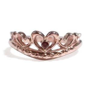 1月の誕生石 ガーネット シルバーアクセサリー 純銀 シルバー925 リング 指輪 ティアラ レディース 誕生日プレゼント クリスマスプレゼント ギフト 贈り物|style-on-stage