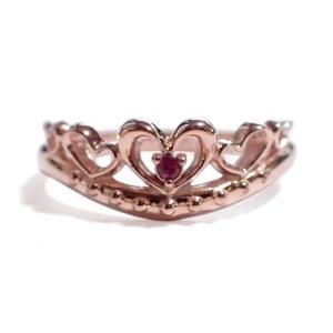 7月の誕生石 ルビー シルバーアクセサリー 純銀 シルバー925 リング 指輪 ティアラ レディース 誕生日プレゼント クリスマスプレゼント ギフト 贈り物|style-on-stage
