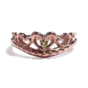 8月の誕生石 ペリドット シルバーアクセサリー 純銀 シルバー925 リング 指輪 ティアラ レディース 誕生日プレゼント クリスマスプレゼント ギフト 贈り物|style-on-stage