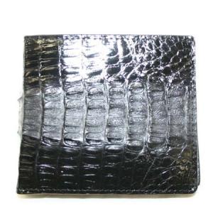 送料無料 超貴重なワニ革を贅沢に使った高級財布 ワニ革 財布 折財布 父の日|style-on-stage