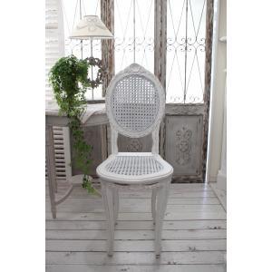 ハンドメイドのフランス家具 ドールチェア・ホワイト 【Blanc de Paris】 椅子 チェア 木製 シャビーシック アンティーク風 アンティーク フレンチ|style-rococo|02