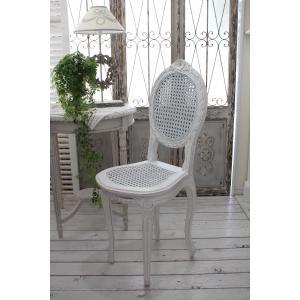 ハンドメイドのフランス家具 ドールチェア・ホワイト 【Blanc de Paris】 椅子 チェア 木製 シャビーシック アンティーク風 アンティーク フレンチ|style-rococo|03