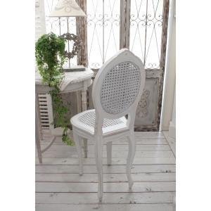 ハンドメイドのフランス家具 ドールチェア・ホワイト 【Blanc de Paris】 椅子 チェア 木製 シャビーシック アンティーク風 アンティーク フレンチ|style-rococo|04