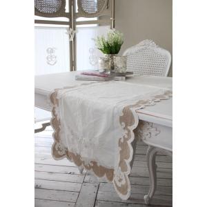 ★SALE・30★Blanc Mariclo ブランマリクロ Villa Borgheseシリーズ テーブルランナー テーブルセンター シャビーシック アンティーク風 フレンチカン|style-rococo