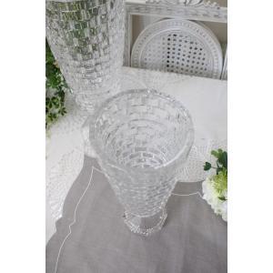 ガラス花器・ビエトラトールS 花瓶 ベース ヨーロピアン型 洋風 輸入雑貨 シャビーシック ヨーロピアン雑貨 アンティーク風|style-rococo|04