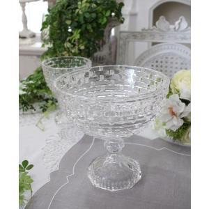 ガラス花器・ビエトラショートL 花瓶 ベース ヨーロピアン型 洋風 輸入雑貨 シャビーシック ヨーロピアン雑貨 アンティーク風|style-rococo|04