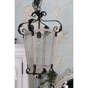 フレンチシックなアイアン&ウッドのペンダントランプ (DALYAN/003) 引っ掛けシーリング スポットライト ペンダントライト シャンデリア カフェ風 天井照明 40W|style-rococo