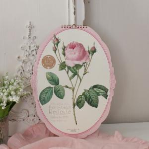 スタイルロココ 2018年  ルドゥーテ オーバル壁掛けカレンダー 薔薇 平成30年度 13枚つづり 日本製