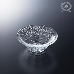 スタイルロココ トルコ製の素敵なガラス食器♪ (ボールSサイズ) ガラスプレート 輸入食器 ガラス製 ケーキ皿 ディナー皿 ガラスボウル
