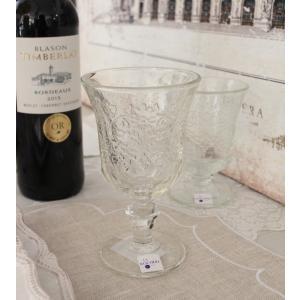 スタイルロココ 【La Rochere】 フランス ラロシェール社製 エレガントに輝くワイングラス260cc アンボワーズ アンポワーズ ウォーターグラス ガラス食器