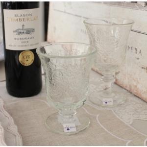 スタイルロココ ガラスコップ ゴブレット(アンボワーズ290cc) フランス製 【La Rochere】 ラロシェール アンポワーズ ウォーターグラス タンブラー ガラス食器 シャビーシック お洒落