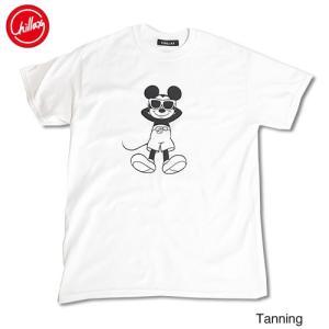 Chillax×Disney Mickey(ディズニー)タンニング ミッキーマウス フロントプリント...